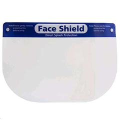 Protective Face Shield w/ Comfort Sponge