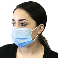 3-PLY Protective Disposable Face Mask