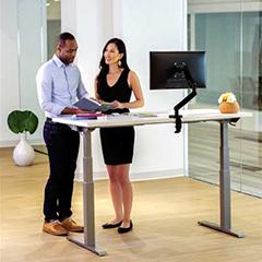Fellowes Levado Height Adjustable Desk (Base)