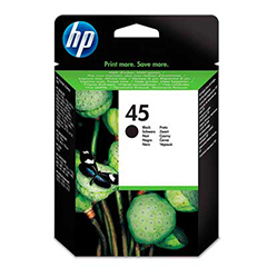 HP45 Black Ink Cartridge