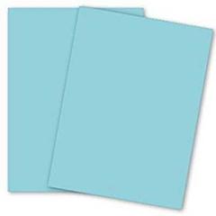 CARDSTOCK,8.5X11,90LB,PK,BLUE