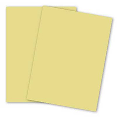 CARDSTOCK,8.5X11,90LB,CANARY