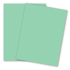 CARDSTOCK,8.5X11,90LB,GREEN