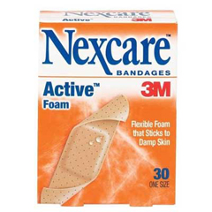 Flexible Extra-Stick Foam Bandages