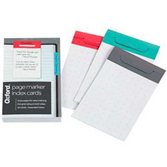 Page Marker Index Cards