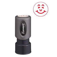 Specialty Stamp, Happy Face, Red